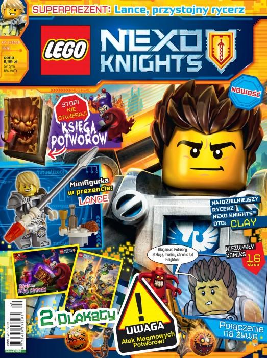 Lego Nexo Knights Nowość Na Rynku Nasz Kolporter